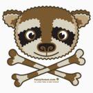 Fuzzybones™—Kevin (Raccoon) by Trulyfunky