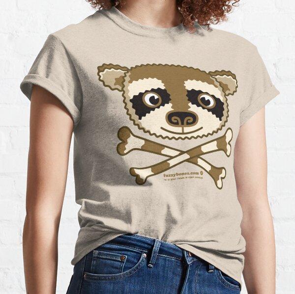 Fuzzybones™—Kevin (Raccoon) Classic T-Shirt