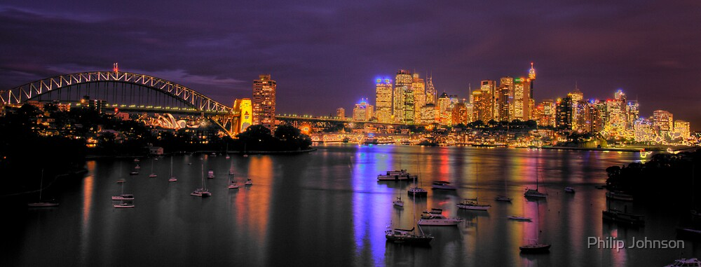 """Lavender   - """"The Photographers Cut"""" - Moods of a City #13 - The HDR Series, Sydney Australia by Philip Johnson"""