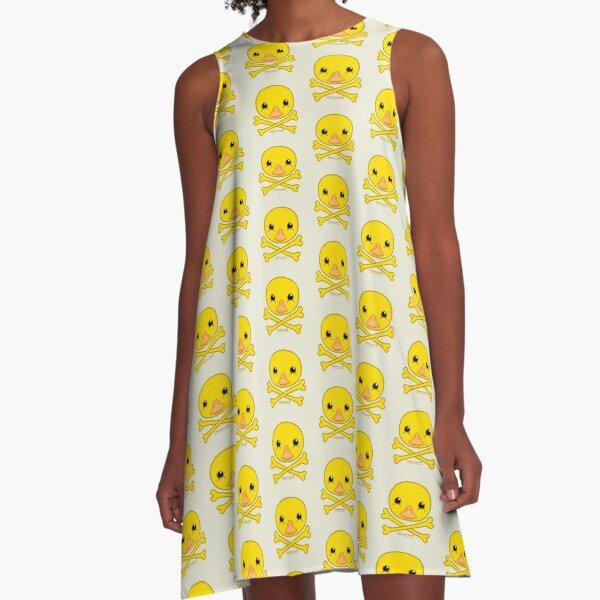 Fuzzybones™—Melody (Duckling) A-Line Dress