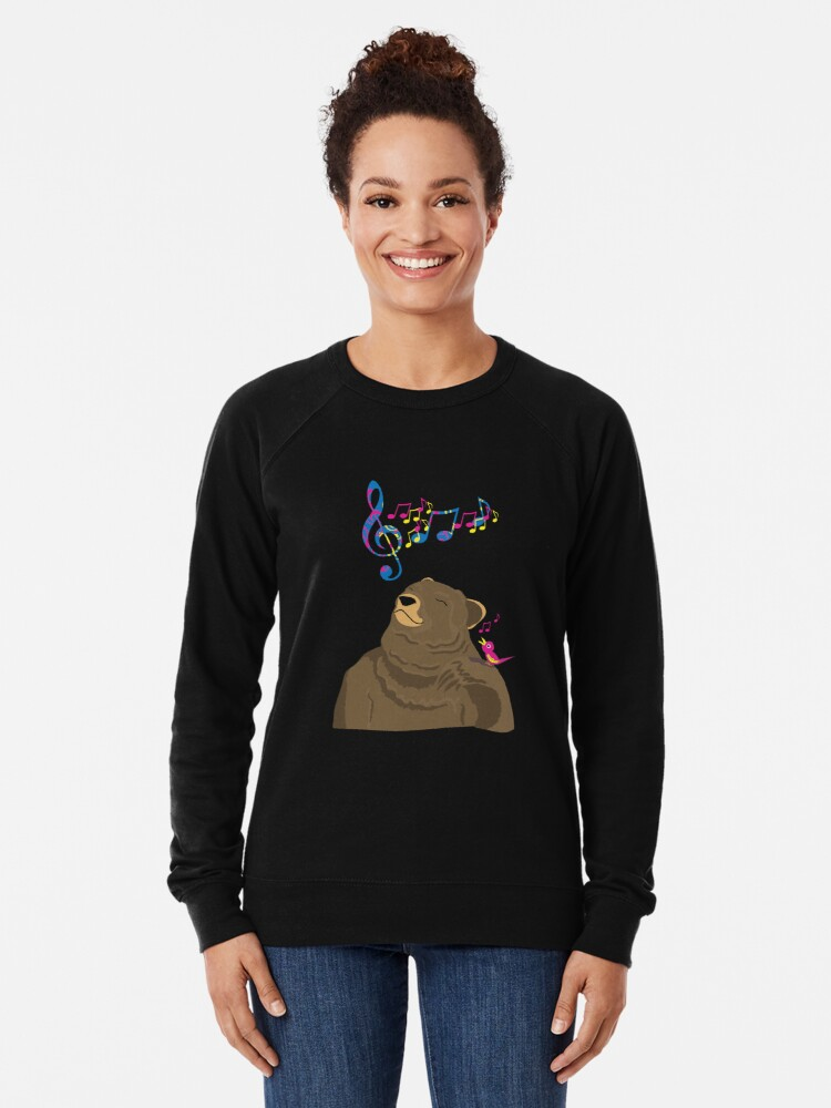 Alternate view of I See Music Lightweight Sweatshirt