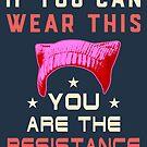 Pink Pussyhat Protest - Du bist der Widerstand von electrovista