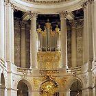 chapel at Versailles, Paris by chord0