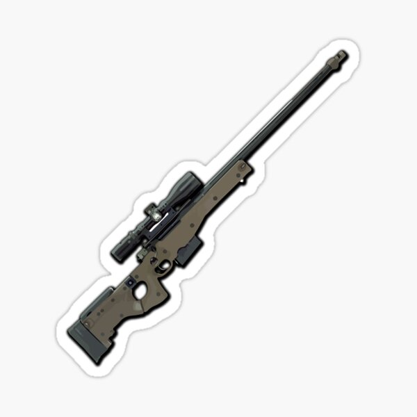 AWM Sniper Rifle Sticker