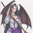 Bat Winged Elf by Stephanie Small