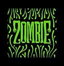 Zombie Logo (Creepy Green) by Trulyfunky