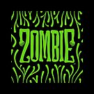 Zombie Logo (Creepy Green) by Trulyfunky
