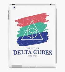 Greendale Delta Cubes Fraternity iPad Case/Skin