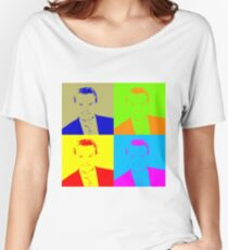 Regis Philbin Andy Warhol Women's Relaxed Fit T-Shirt
