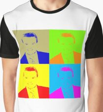 Regis Philbin Andy Warhol Graphic T-Shirt
