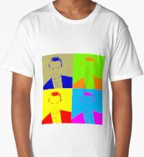 Regis Philbin Andy Warhol Long T-Shirt