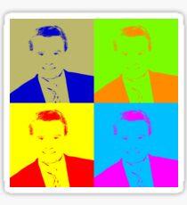 Regis Philbin Andy Warhol Sticker