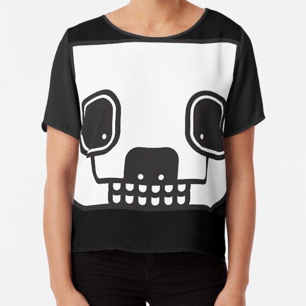 Zombie Panda Chiffon Top