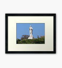 Jesus Christ Havana (Cuba) Framed Print