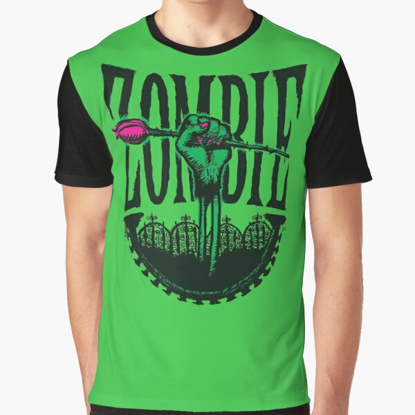 Zombie—A Rose Graphic T-Shirt