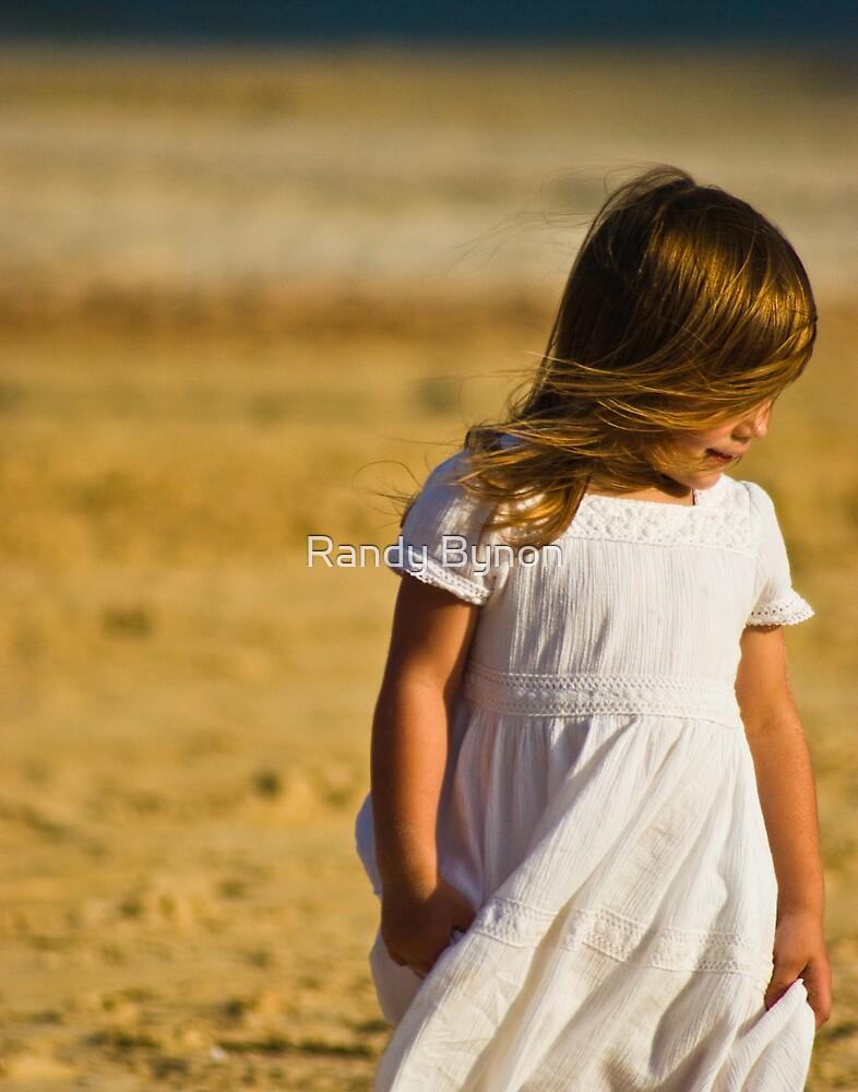 Walk on the Beach by Randy Bynon