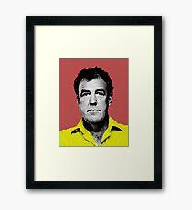 Top Gear Inspired Pop Art, Jeremy Clarkson Framed Print