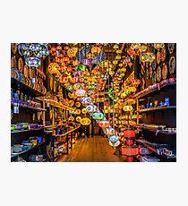 Camden Markets Lanterns Photographic Print
