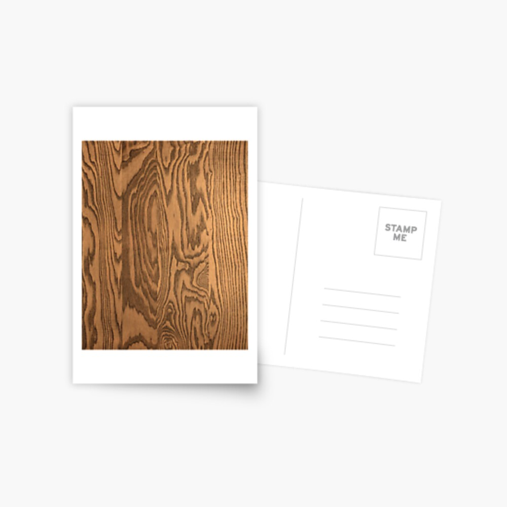 Wood 4 Postcard
