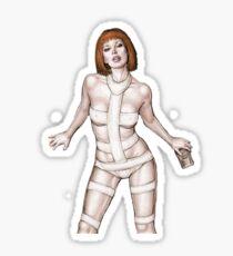 Leeloo Dallas Multi Pass Sticker