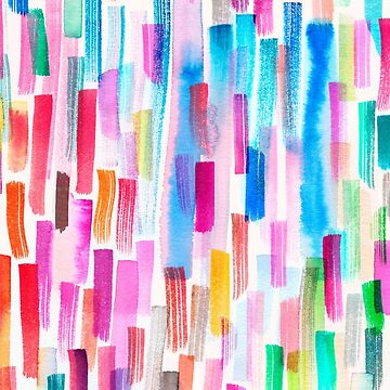 Candy colored brushstrokes by ninoladesign