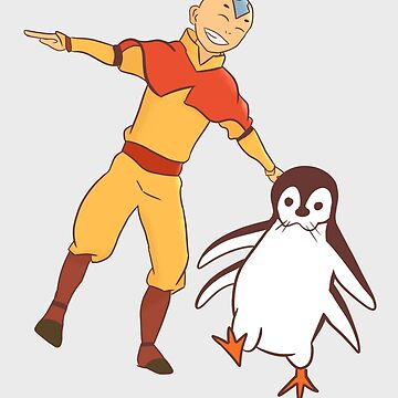 Aang the Penguin by redmads21