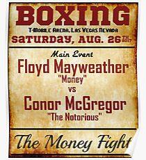Floyd Mayweather Vs Conor McGregor Poster