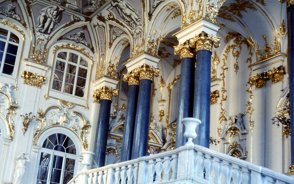 The Hermitage Museum, Moscow by MayWebb