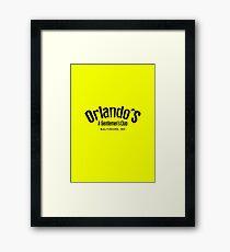 The Wire - Orlando's Gentlemen's Club Framed Print