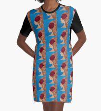 Como La Flor Graphic T-Shirt Dress