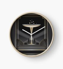 Art deco design VI Clock