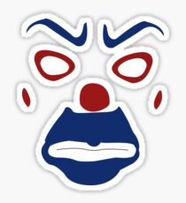 BOZO MASK Sticker