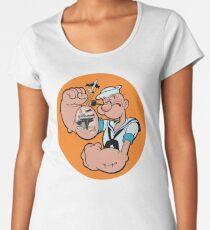Popeye the Sailor Man Women's Premium T-Shirt