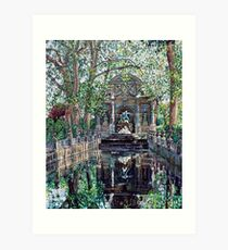 Medici Fountain Art Print