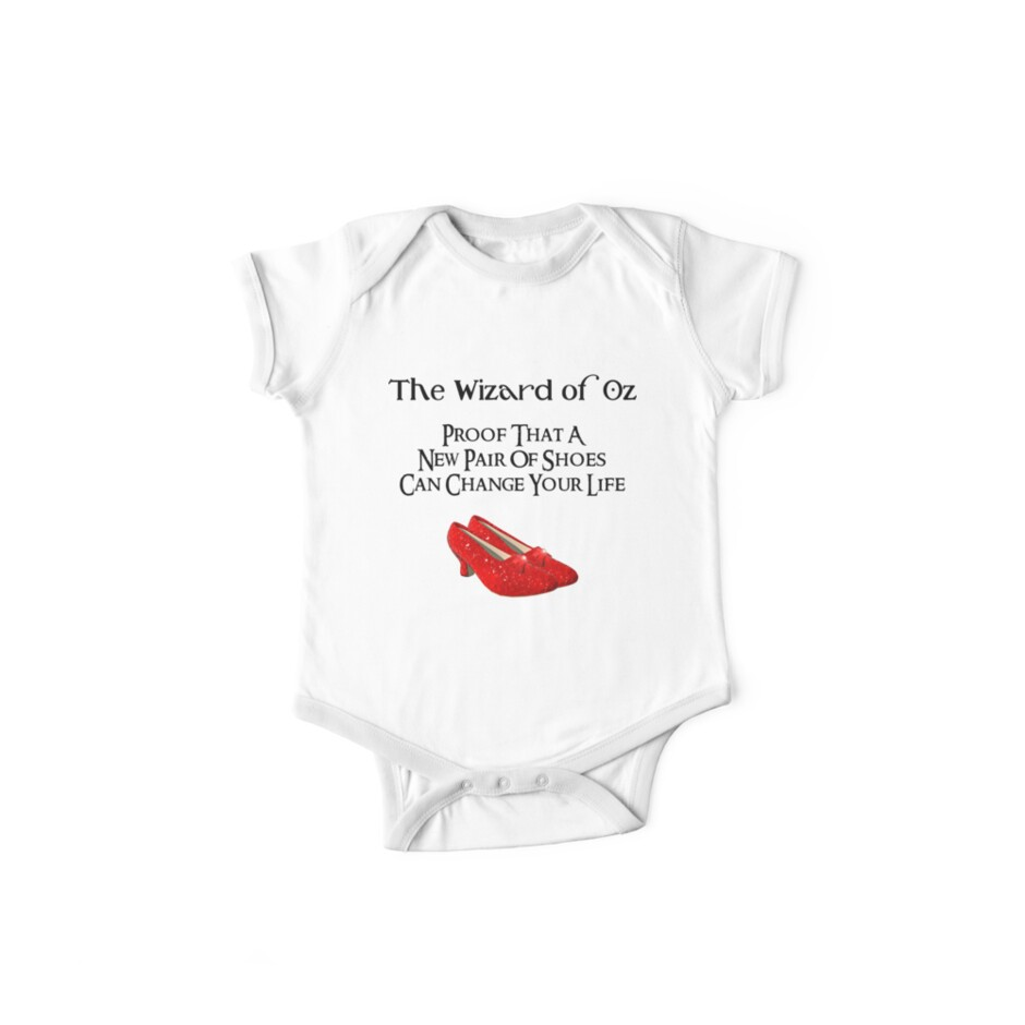 wizard of oz dorothy s ruby red slippers one piece short sleeve