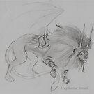 Fantasy Lion by Stephanie Small