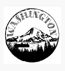 Washington Stamp Photographic Print