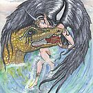 Angel and Dragon by Stephanie Small