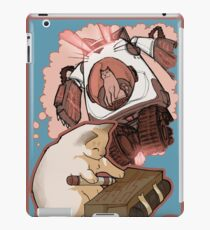 Puddin' Builds A Catbot iPad Case/Skin