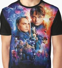 Valerian The Movies Graphic T-Shirt