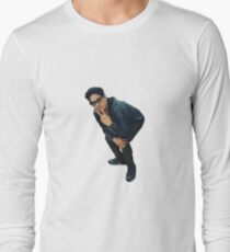 George Salazar being cute Long Sleeve T-Shirt