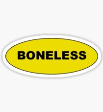 Boneless Sticker