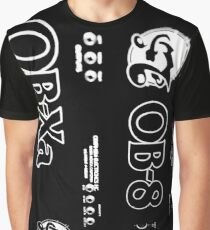 Black ObieWan Graphic Graphic T-Shirt
