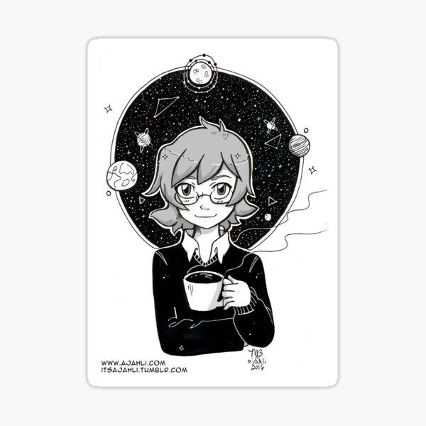 Coffee with Pidge Sticker