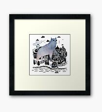 The Fog Framed Print