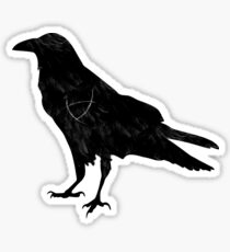 Ley Line Raven Sticker