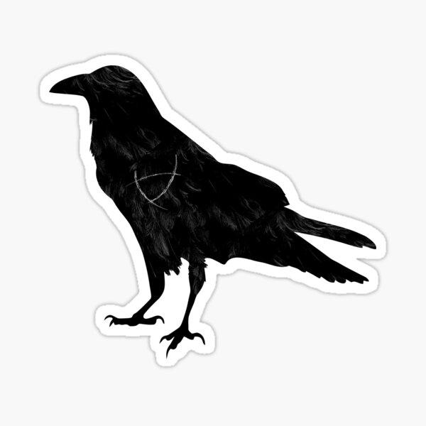 Ley Line Raven Sticker
