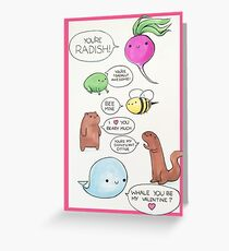 Punny Valentine Greeting Card