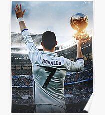 Ronaldo Golden Poster