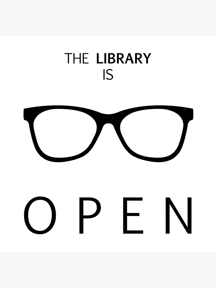 The Library is Open by iamdan